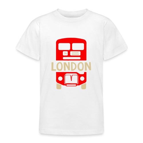 London Bus Roter Doppeldecker London Fan Souvenir - Teenager T-Shirt