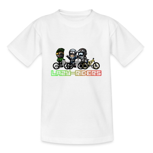 LAZY-RIDERS - Teenager T-Shirt