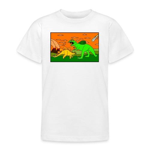 Schneckosaurier von dodocomics - Teenager T-Shirt