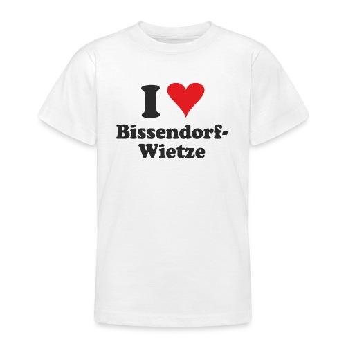 I Love Bissendorf-Wietze - Teenager T-Shirt