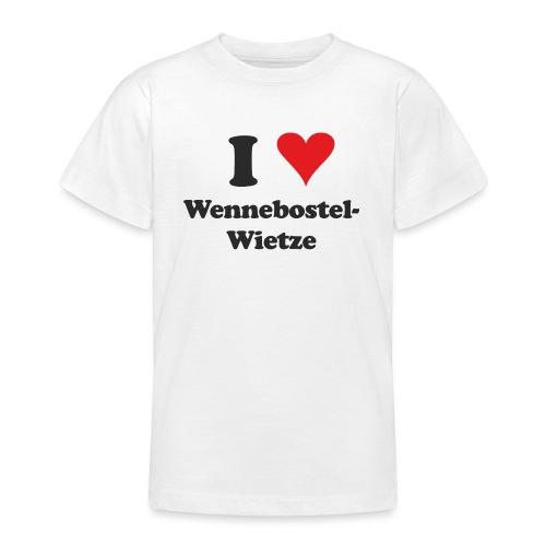 I Love Wennebostel-Wietze - Teenager T-Shirt