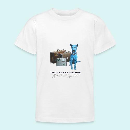 Laly Blue Big - Teenage T-Shirt