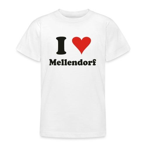 ILoveMellendorf - Teenager T-Shirt