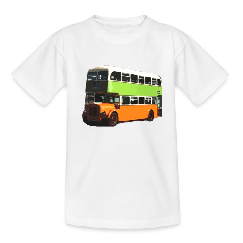 Glasgow Corporation Bus - Teenage T-Shirt