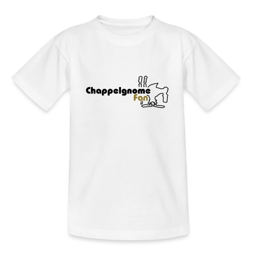 chappelgnome fan logo - Teenager T-Shirt