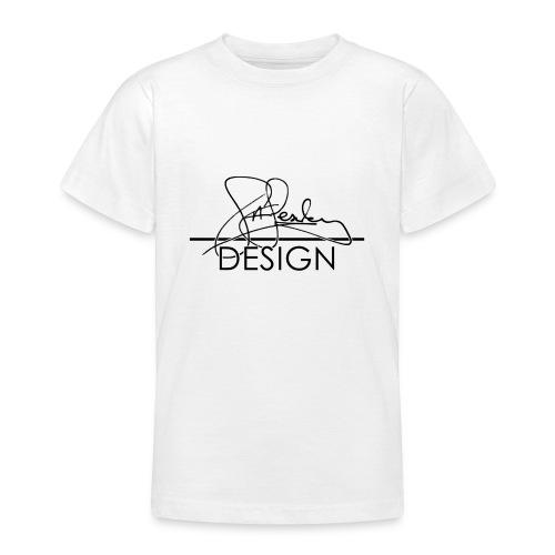 sasealey design logo png - Teenage T-Shirt