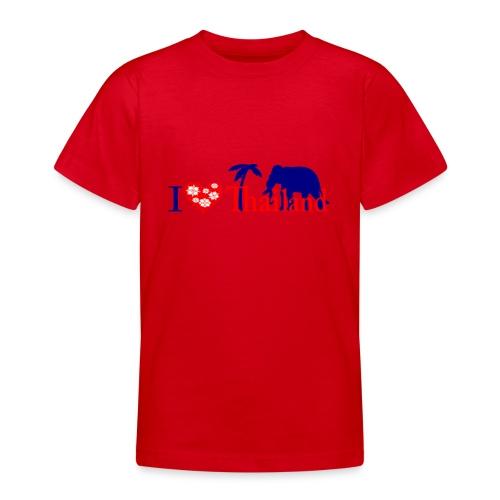 I love Thailand - Teenage T-Shirt
