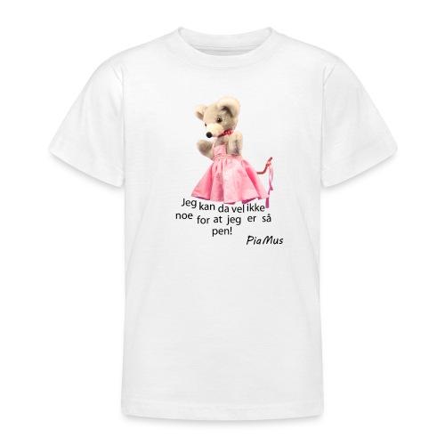 largepiawtext - T-skjorte for tenåringer