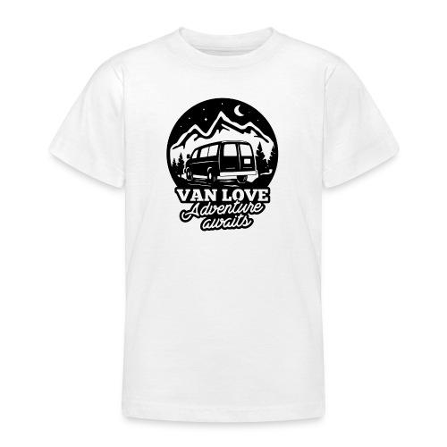 Van Love black - Maglietta per ragazzi