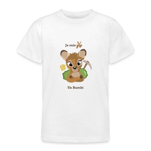 Je suis un bambi - T-shirt Ado