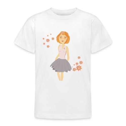 roodharig meisje - T-shirt Ado