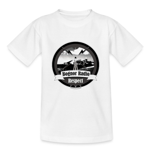 Bognor Radio Respect - Teenage T-Shirt