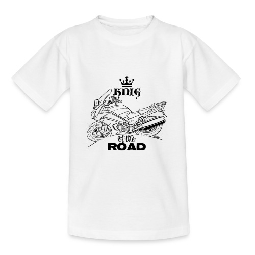 0882 FJR KING of the ROAD - Teenager T-shirt