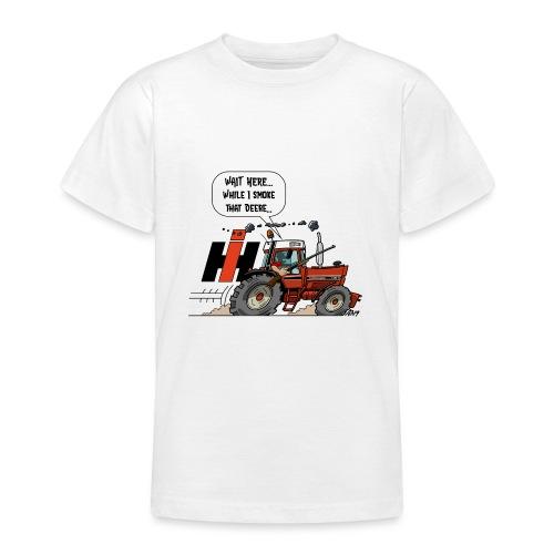 0857 wait here shotgun - Teenager T-shirt
