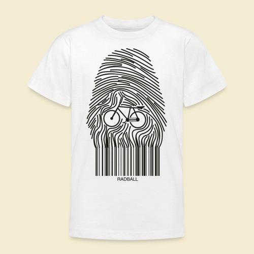 Radball | Fingerprint - Teenager T-Shirt