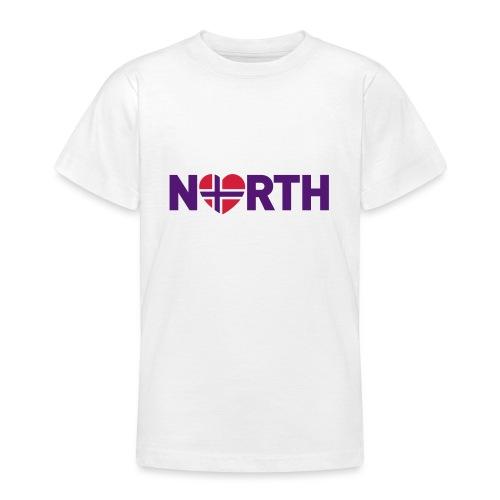 Nord-Norge på engelsk - plagget.no - T-skjorte for tenåringer
