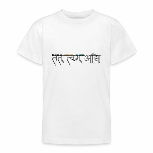du bist's - Teenager T-Shirt