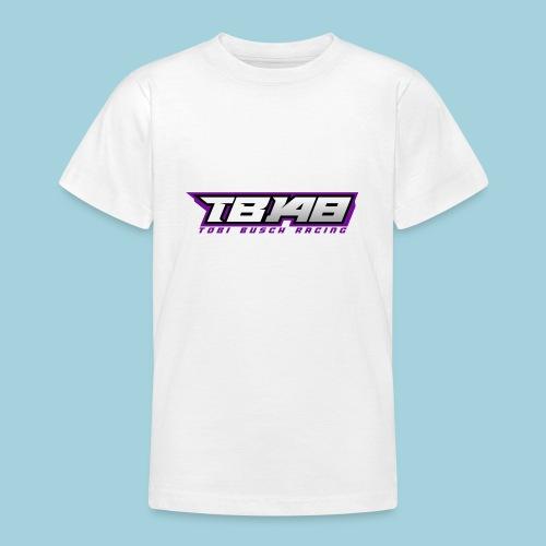 Tob Logo Lila - Teenager T-Shirt