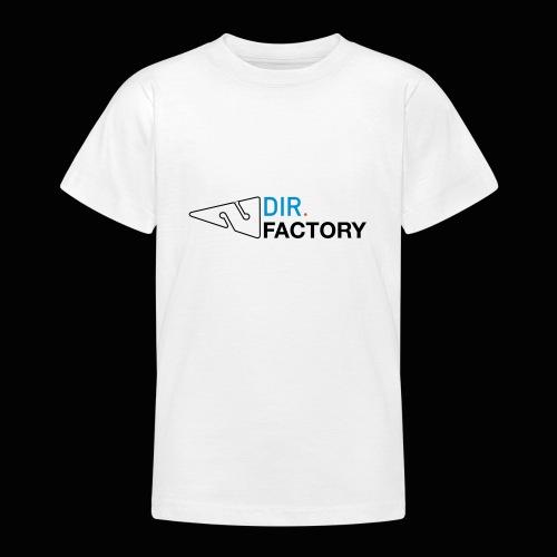 Logo mit Arrow DESIGN - Teenager T-Shirt