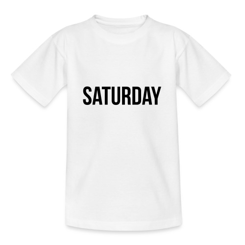Saturday - Teenage T-Shirt