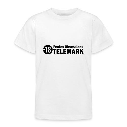telemark fentes obsessions18 - T-shirt Ado