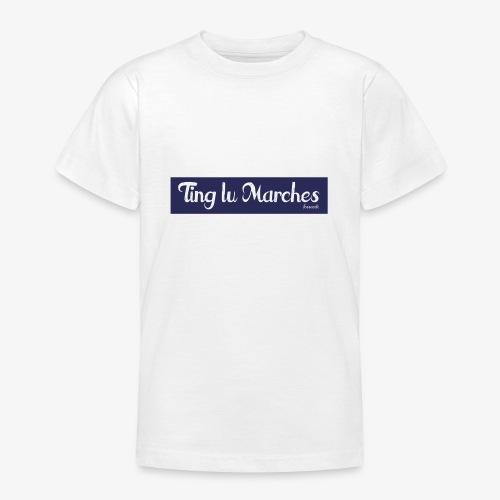 Ting lu Marches - Maglietta per ragazzi