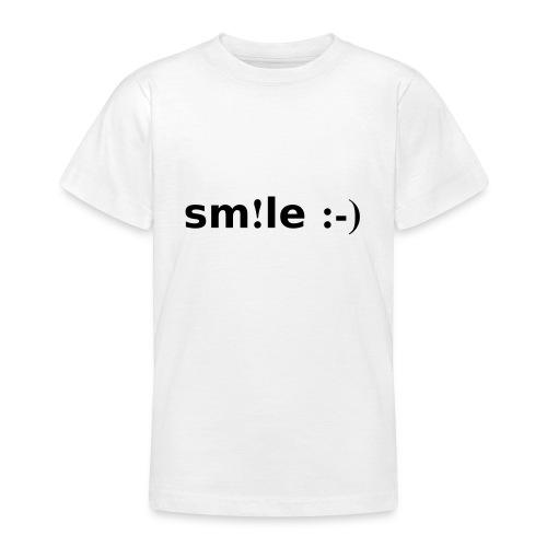 smile - sorridi - Maglietta per ragazzi