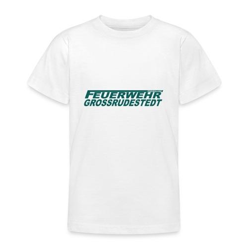 Schriftzug_FFG_gross - Teenager T-Shirt