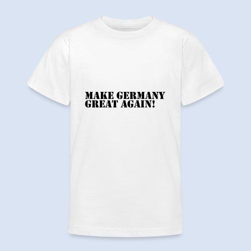 Make Germany Great Again - Donald Trump Design - Teenager T-Shirt