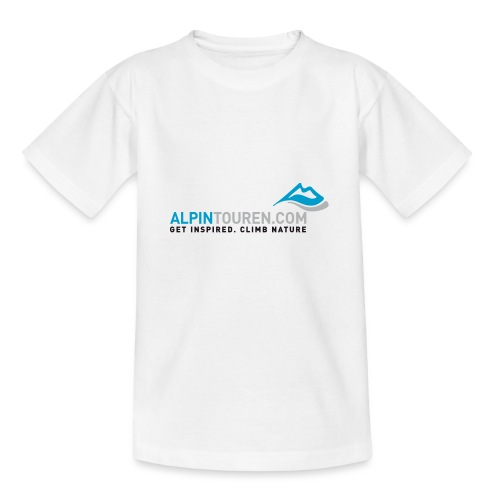 Alpintouren Logo - Teenager T-Shirt