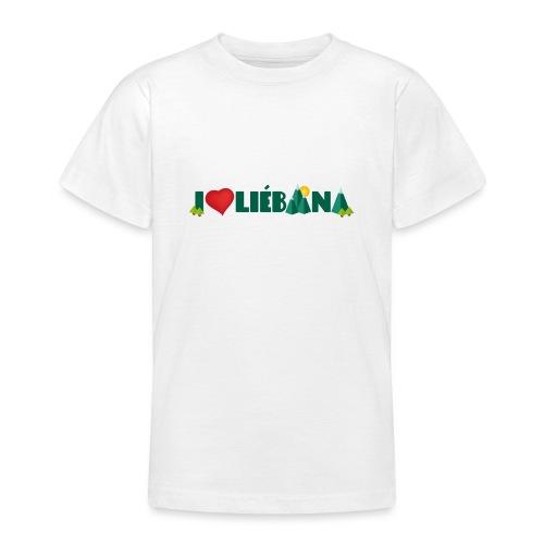 Love Liébana - Camiseta adolescente