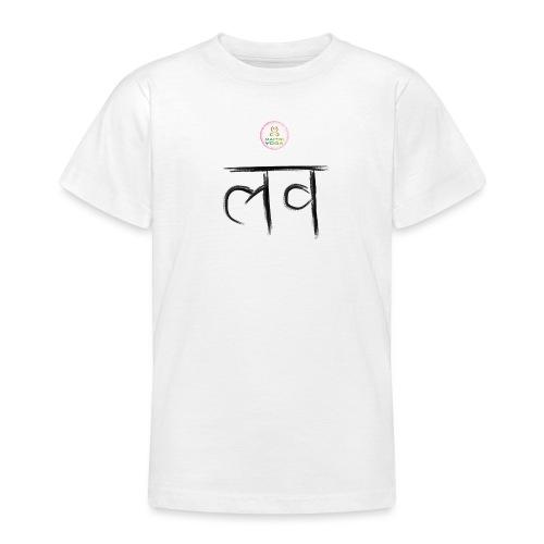 LOve SansKrit Black - T-shirt Ado