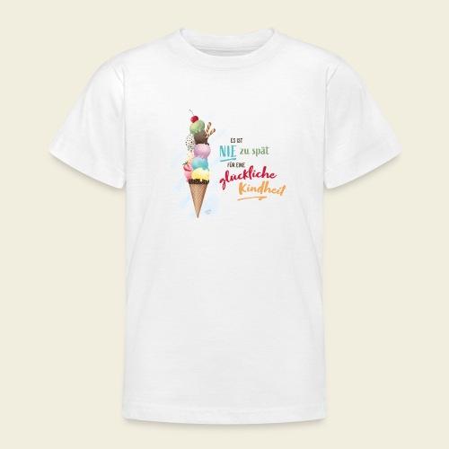 Eis - glückliche Kindheit - Teenager T-Shirt