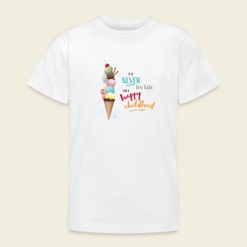 Eis - Kindheit - Teenager T-Shirt