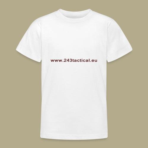 .243 Tactical Website - Teenager T-shirt