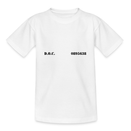 Department of Corrections (D.O.C.) 2 front - Teenager T-Shirt