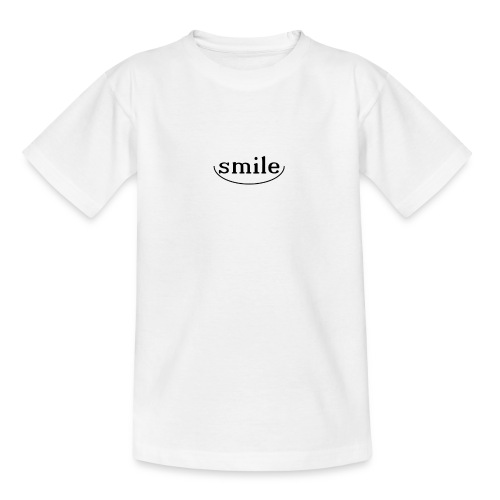 Do not you even want to smile? - Teenage T-Shirt