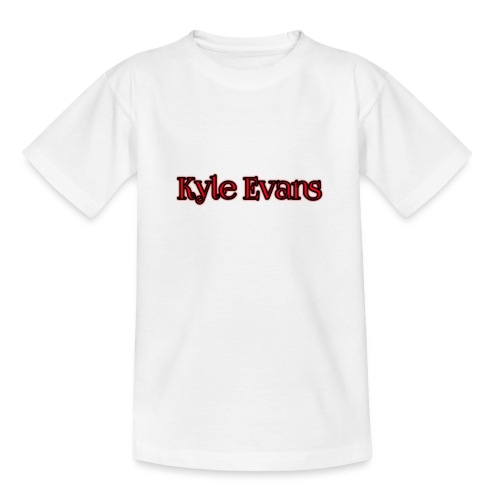 KYLE EVANS TEXT T-SHIRT - Teenage T-Shirt