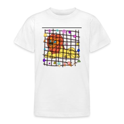 Lion dans son cage - T-shirt Ado