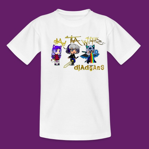 djAd ThA Witch Z djAdgAng - T-shirt Ado