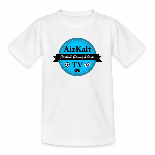 AizKaltTV Logo 2018 - Teenager T-Shirt