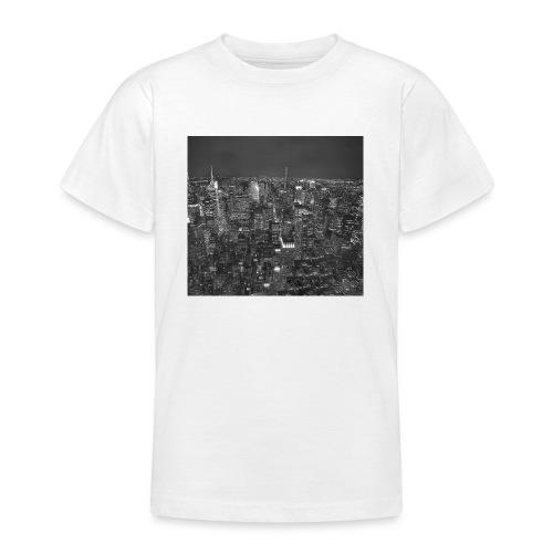 Manhattan at night - Teenager-T-shirt