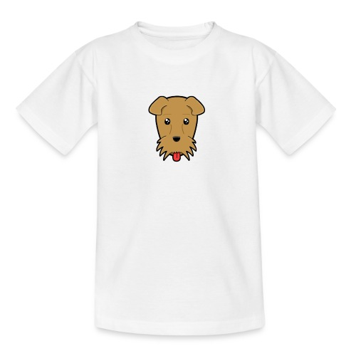 Shari the Airedale Terrier - Teenage T-Shirt