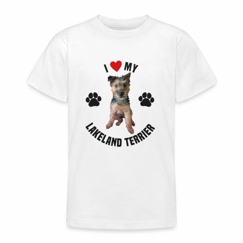 I heart my lakeland terri - Teenage T-Shirt