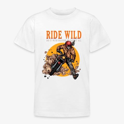 Ride Wild - T-shirt Ado