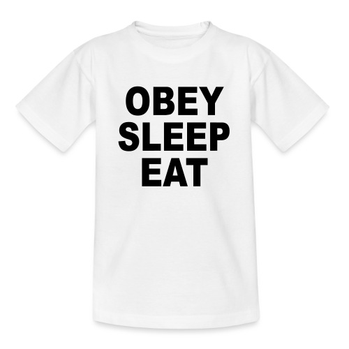 obey sleep - T-shirt Ado