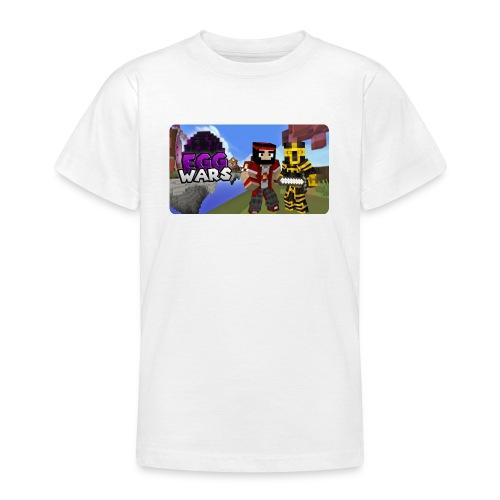 EggWars Manu y Massi - Camiseta adolescente