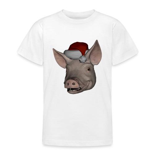 Merry Christmas - T-skjorte for tenåringer
