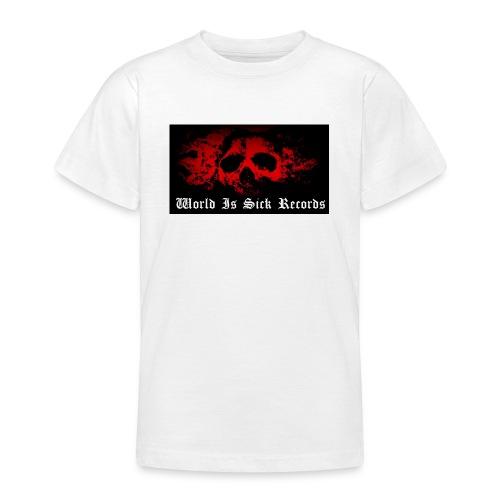 World Is Sick Skull Huppari - Nuorten t-paita