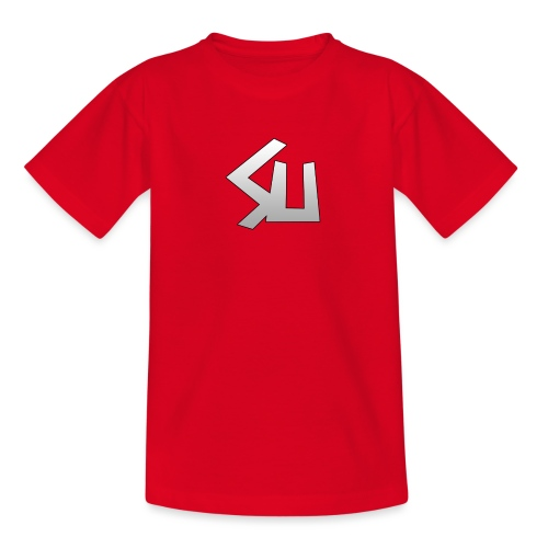 Plain SU logo - Teenage T-Shirt
